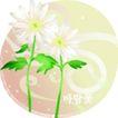 矢量花卉0025,矢量花卉,分层花纹,微风 吹拂 花姿