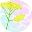 矢量花卉0032,矢量花卉,分层花纹,黄花 花冠 灿烂
