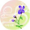 矢量花卉0036,矢量花卉,分层花纹,蓝花 浪漫 真情