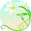 矢量花卉0054,矢量花卉,分层花纹,