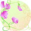 矢量花卉0055,矢量花卉,分层花纹,