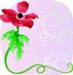 矢量花卉0058,矢量花卉,分层花纹,