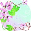矢量花卉0061,矢量花卉,分层花纹,