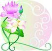 矢量花卉0066,矢量花卉,分层花纹,
