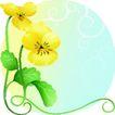 矢量花卉0069,矢量花卉,分层花纹,
