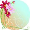 矢量花卉0070,矢量花卉,分层花纹,