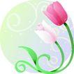 矢量花卉0071,矢量花卉,分层花纹,
