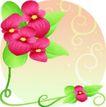矢量花卉0072,矢量花卉,分层花纹,