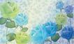花卉0003,花卉,分层花纹,浅色 带刺 玫瑰