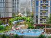 一城新界0003,一城新界,国内建筑设计案例,花园 游泳池 游泳