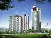 一城新界0006,一城新界,国内建筑设计案例,大厦 3D效果图 立体图