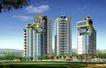一城新界0009,一城新界,国内建筑设计案例,枝叶 天空 城市