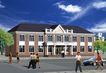 三部设计中心0005,三部设计中心,国内建筑设计案例,蓝天 车子 自行车