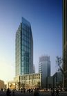 上海淮海国际广场0009,上海淮海国际广场,国内建筑设计案例,游客 广场 市民