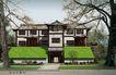 专家园别墅0005,专家园别墅,国内建筑设计案例,古典 风格 古木