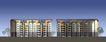 中信东泰花园二期规划建筑设计方案0014,中信东泰花园二期规划建筑设计方案,国内建筑设计案例,两座楼房 房地产 楼盘