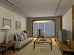 中式两居室0006,中式两居室,国内建筑设计案例,阳光 阳台 台灯