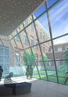 丹东第一人民医院0009,丹东第一人民医院,国内建筑设计案例,阳光 室内 身影