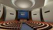 亚洲论坛会议中心0015,亚洲论坛会议中心,国内建筑设计案例,影视厅 大厅 座位