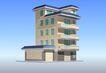 住宅0008,住宅,国内建筑设计案例,颜色 屋顶 外墙
