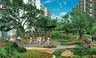 住宅小区景观0132,住宅小区景观,国内建筑设计案例,