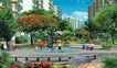 住宅小区景观0134,住宅小区景观,国内建筑设计案例,