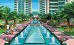 住宅小区景观0154,住宅小区景观,国内建筑设计案例,