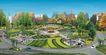 住宅小区景观0157,住宅小区景观,国内建筑设计案例,
