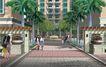 住宅小区景观0164,住宅小区景观,国内建筑设计案例,