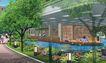 住宅小区景观0165,住宅小区景观,国内建筑设计案例,