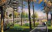 住宅小区景观0176,住宅小区景观,国内建筑设计案例,