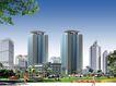 光彩工程0002,光彩工程,国内建筑设计案例,城市 高楼 公园