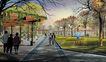 公园广场景观0035,公园广场景观,国内建筑设计案例,