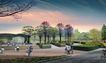 公园广场景观0037,公园广场景观,国内建筑设计案例,