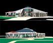 内江大洲坝广场水景茶园0008,内江大洲坝广场水景茶园,国内建筑设计案例,