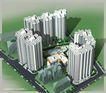 凤凰城住宅小区0002,凤凰城住宅小区,国内建筑设计案例,小区 楼盘 楼群