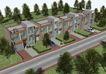 别墅名苑0011,别墅名苑,国内建筑设计案例,街道 屋顶 车子