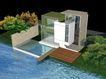 别墅名苑0014,别墅名苑,国内建筑设计案例,水色 树叶 房子