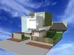 别墅名苑0015,别墅名苑,国内建筑设计案例,天空 空中 模型