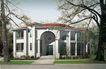 别墅名苑0018,别墅名苑,国内建筑设计案例,古树 大门 环境
