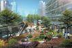 办公商业景观0012,办公商业景观,国内建筑设计案例,台阶 锻炼 打太极