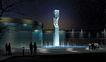 办公商业景观0022,办公商业景观,国内建筑设计案例,夜色 展览 游客