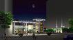 加州城市花园0005,加州城市花园,国内建筑设计案例,晚上 城市 宁静