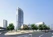 北京中央电视台0012,北京中央电视台,国内建筑设计案例,拐角 银色 都市