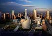 北京中央电视台0013,北京中央电视台,国内建筑设计案例,夕阳 暮色 金色