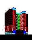 北京清润国际公寓0019,北京清润国际公寓,国内建筑设计案例,