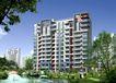 华森上海住宅0001,华森上海住宅,国内建筑设计案例,水池 公园 园林