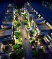 南京仙林大学B地块项目规划建筑设计方案0004,南京仙林大学B地块项目规划建筑设计方案,国内建筑设计案例,设计 规划 夜景