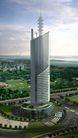 南京第二长途电信枢纽0001,南京第二长途电信枢纽,国内建筑设计案例,电信塔 环境 风格