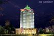 南充报业大厦0003,南充报业大厦,国内建筑设计案例,南充报业大厦 晚上 灯光